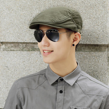 Męskie letnie solidne gazeciarz czapki męskie dorywczo bluszcz kapelusz czystej bawełny płaskie czapka z daszkiem kobiety zwykły berety tanie tanio Stałe Unisex beckyruiwu Dla dorosłych Bawełna Na co dzień y1040 55-59cm