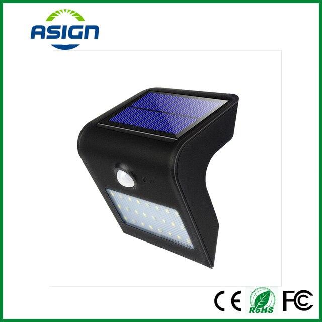 Solar Led Waterproof Ip65 Led Solar Exterior Lampe Solaire Garden