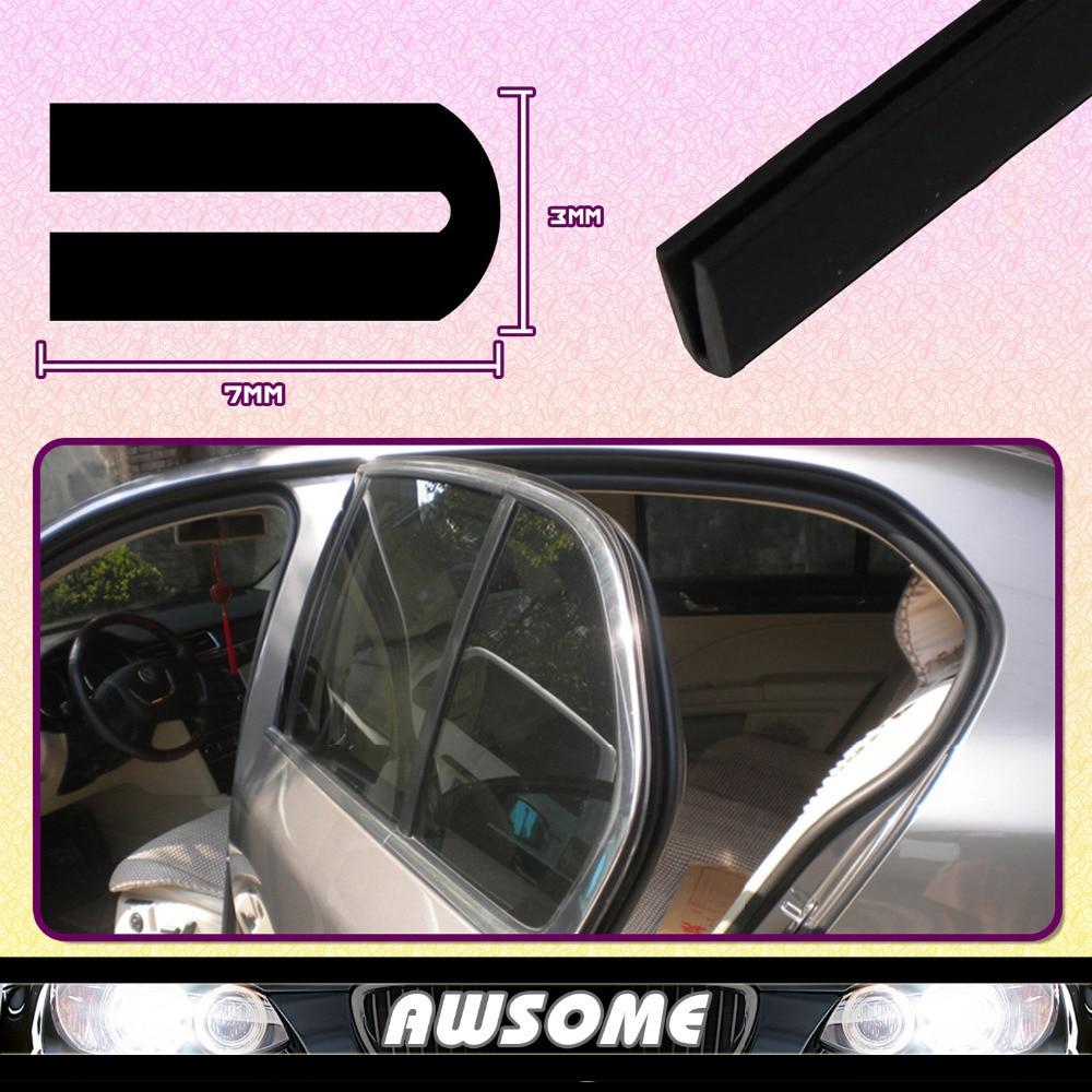 40 100cm 14mmx8.5mm U Channel PVC Black Edge Trim Rubber Car Truck Trailer Camper Window Door Edge pillar Guard Seal Durable