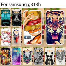 Anunob For Samsung Galaxy ACE 4 NXT G313 Case Ace4 Lite Silicone Cover Soft TPU SM-G313H G318ML SM-G318H G318F Bags