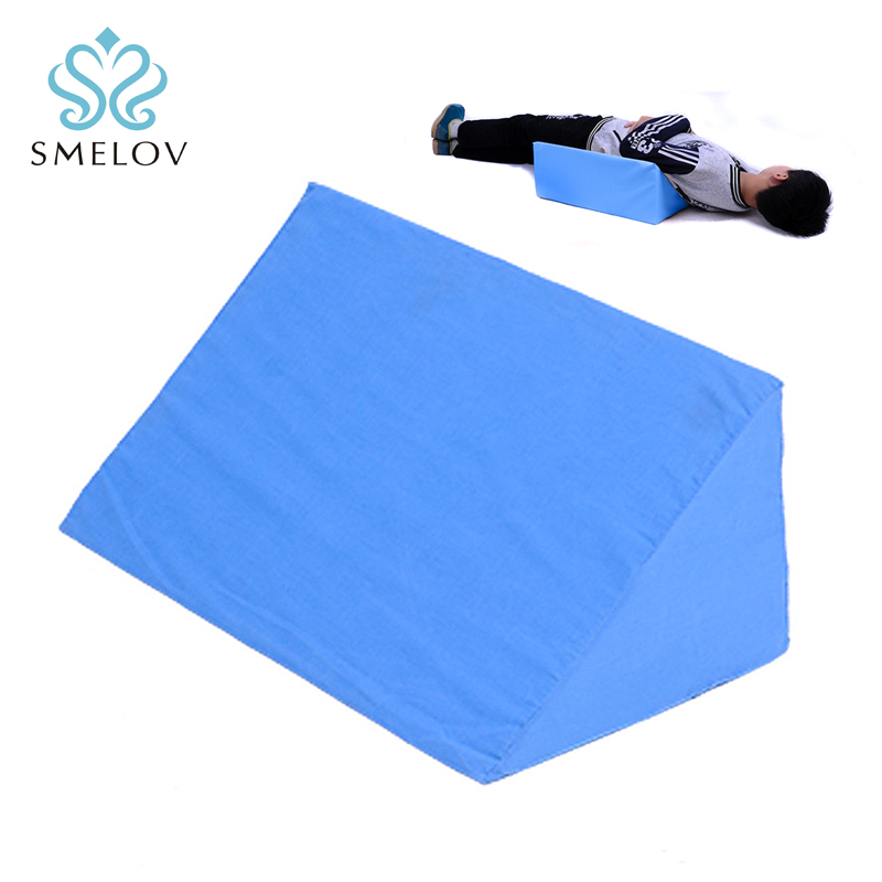 Foam Bed Wedge Acid Reflux Pillow Elevating Leg Rest Back