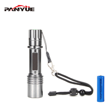 PANYUE Powerful Led Flashlight Torch with 18650 battery 1000 lumen XM-L2 Rechargeable Waterproof Aluminum Flash light