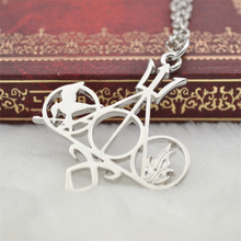 Hunger Games Symbols Necklace