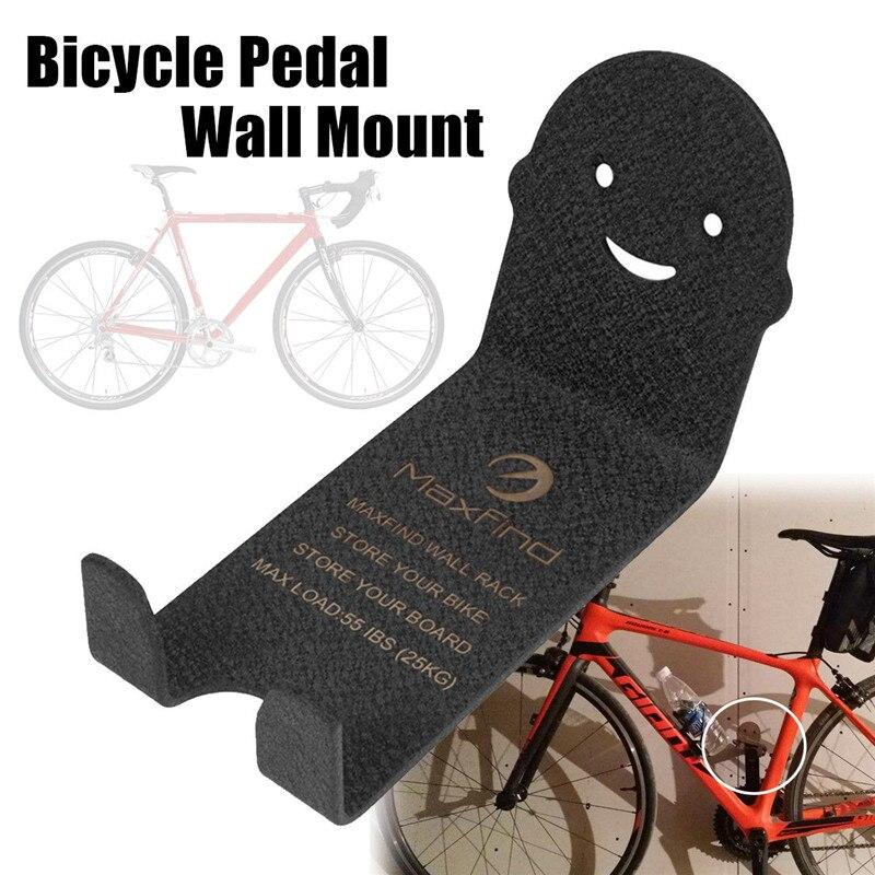 Image 2 - 100 キロ容量バイクウォールマウント自転車スタンドホルダーマウンテンバイクラックスタンド鋼ハンガーフック収納自転車アクセサリー -    グループ上の スポーツ & エンターテイメント からの スケートボード の中