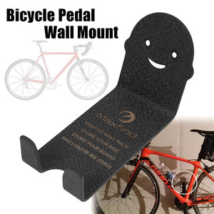 Image 2 - 100kg Capacity Bike Wall Mount Bicycle Stand Holder Mountain Bike Rack Stands Steel Hanger Hook Storage Bicycle Accessories