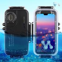 PULUZ 40 м/130 футов подводный дайвинг телефон защитный чехол для huawei P20/P20 Pro Серфинг Плавание Сноркелинг фото видео и ремешок