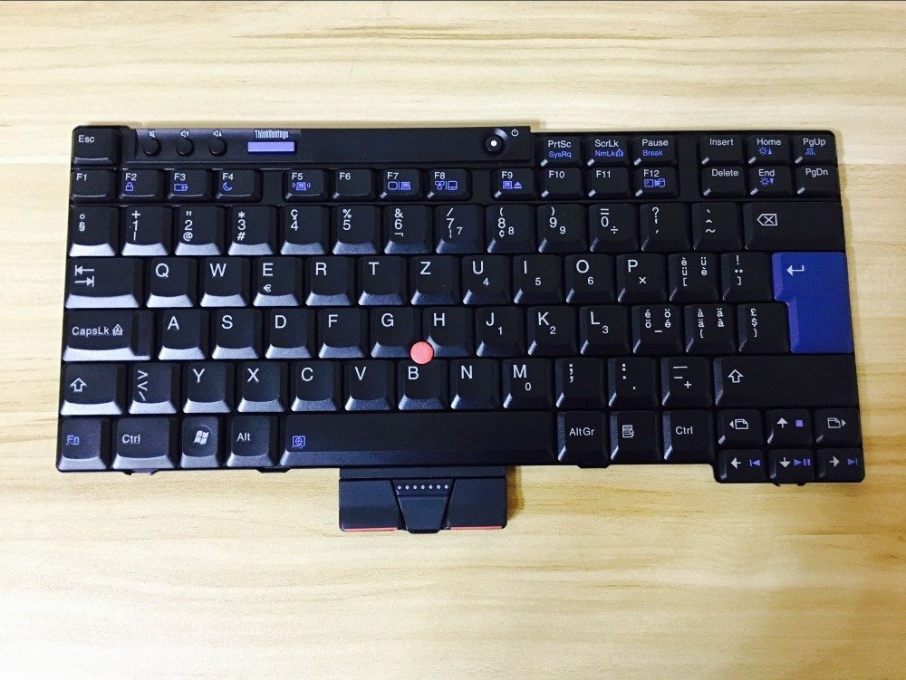 New Laptop keyboard for IBM X200T X200S X200 X201I X201I X201  SW/Swiss layout laptop keyboard for acer silver without frame swiss g sw v 121646ck2 sw aezqss00110