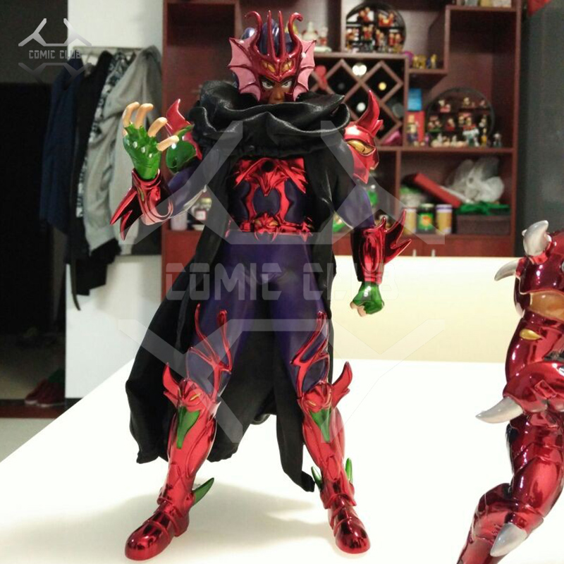 COMIC CLUB Jacksdo Saint Seiya Myth Cloth 27cm Hydra/Hydre Docrates Brother of Cassios gk resin made Figure toy for Collection-in Action & Toy Figures from Toys & Hobbies    1