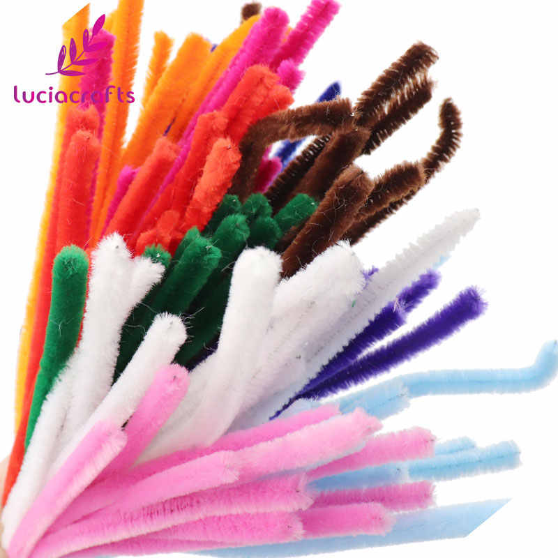 Pipe Cleaners Crafts Set,Chenille Stems Craft,DIY Handmade Furry Wire Kit,Pipe Cleaners Cotton Wire,Pipe Cleaners Strips,Pipe Cleaner Bending Plush,Smoking Cleaning Tools,Art Craft Kit Supplies