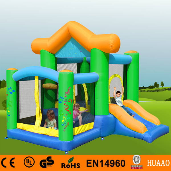 Free Shipping Inflatable House Bouncer Pool Inflatable Playground for kids with Free CE blower