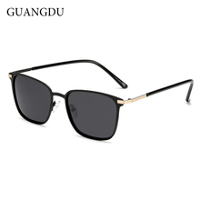 fd720cb12f35 GUANGDU men s polarized sunglasses and women s square type driver s mirror  metal. US  11.07   piece Free Shipping