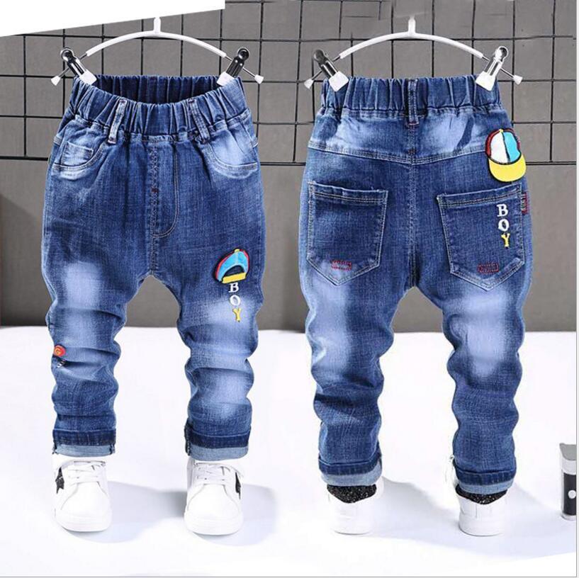 1-6yrs, Merk Broek Kinderen Broek Fashion Meisjes Jeans Kinderen Jongens Ripped Jeans Kids Fashion Denim Broek Baby Casual Zuigeling Jongens Voor Het Verbeteren Van De Bloedsomloop