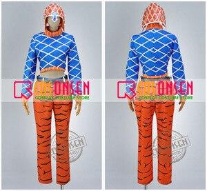Image 3 - Costume de Cosplay Guido Mista, toute taille, sur mesure, nouvelle collection de JoJo Bizarre Adventure