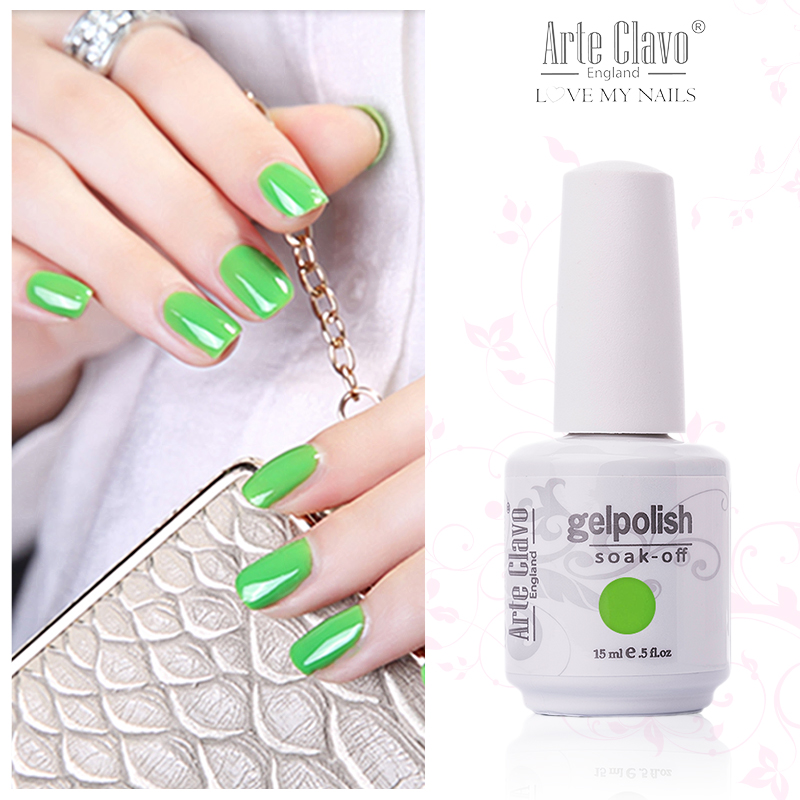 Tradicional 15 ml Arte Clavo Elija 1 pieza Set de manicura UV Gel Uñas Lámpara Laca UV Gel Uñas Soak Off UV Gel Polish