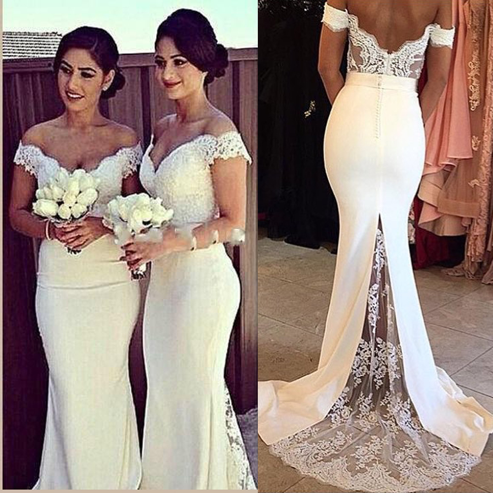 Dress disco picture more detailed picture about beige burgundy beige burgundy bridesmaid dresses lace mermaid bohemian sexy long wedding guest party dress chiffon off the ombrellifo Gallery