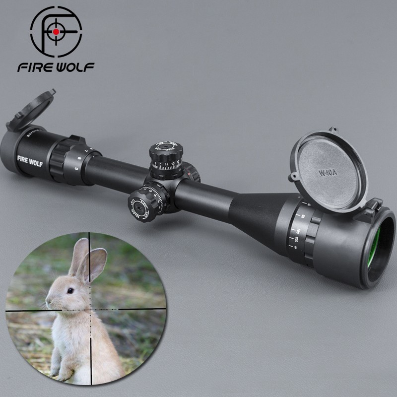 3-9x40AOE Silver Riflescopes Rifle Scope Hunting Scopes W/ Mounts Riflescope Ak 47 Red Dot Sight 2018 new 1 5 5x20 mil dot riflescopes rifle scope hunting scope w mounts