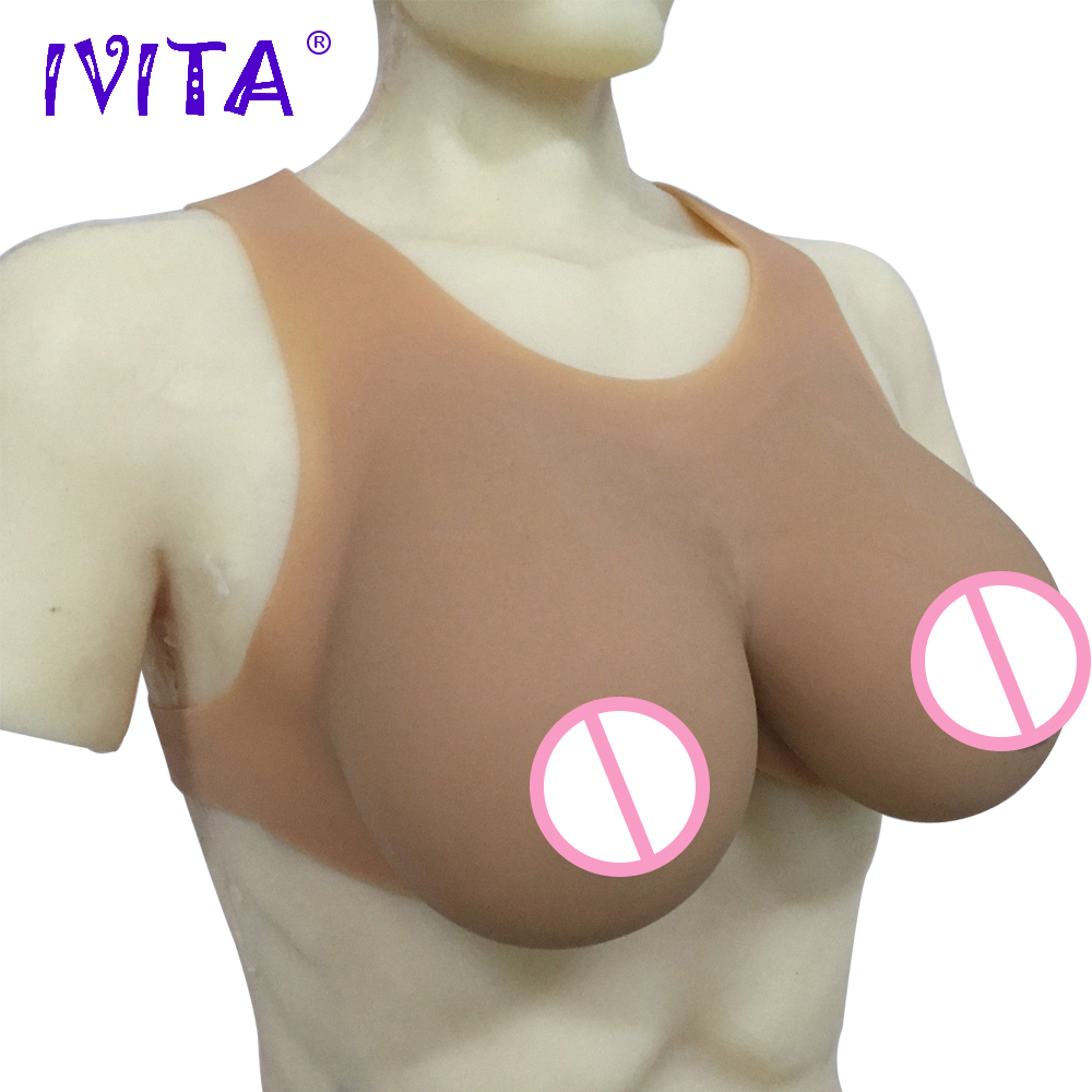 IVITA 6000g Artificial Silicone Breast Forms Realisitic Fake Boobs For Crossdressers Transvestite Crossdress Drag Queen Breasts breast form bra drag queen silicone breast forms travesti fake boobs artificial breast for crossdressers black 1800g