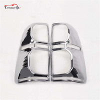 CITYCARAUTO Car Styling FOR 2012 2014 Hilux Accessories ABS Chrome Design Rear Lamp Cover For Hilux