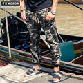 Código de agente Para Hombre pantalones de camuflaje de los hombres de la marca colección pantalones delgados Xiajia fertilizantes aumentó ocio pantalones