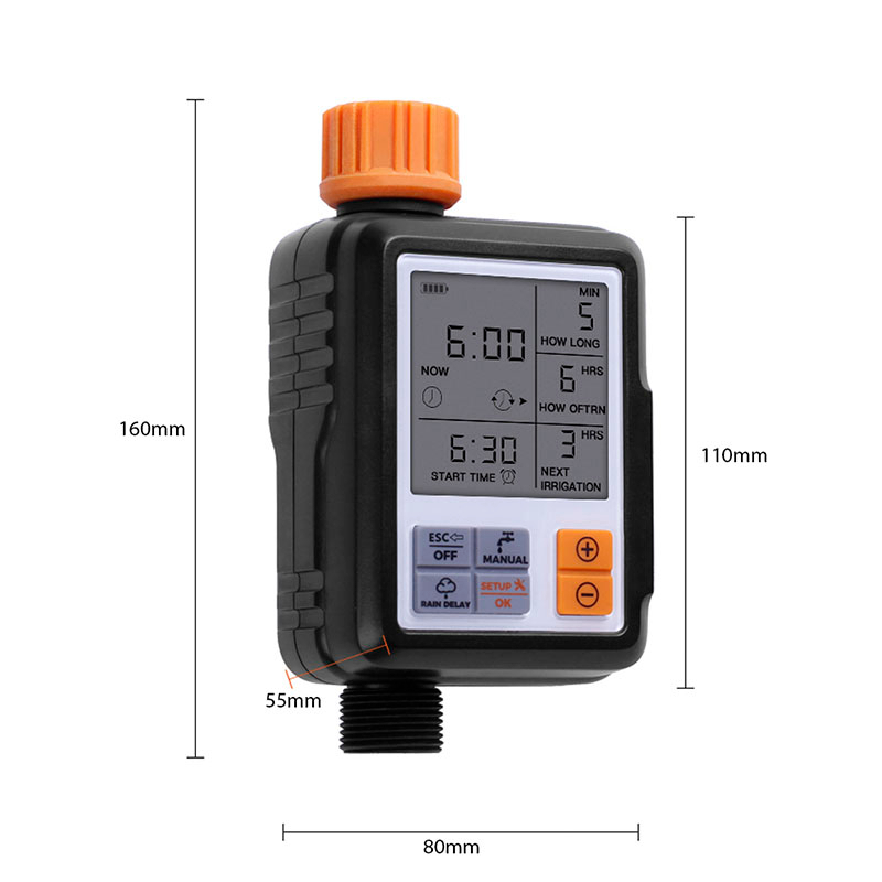 Automatic Electronic Garden Water Timers With Lcd Screen Sprinkler Controller For Outdoor Garden 3