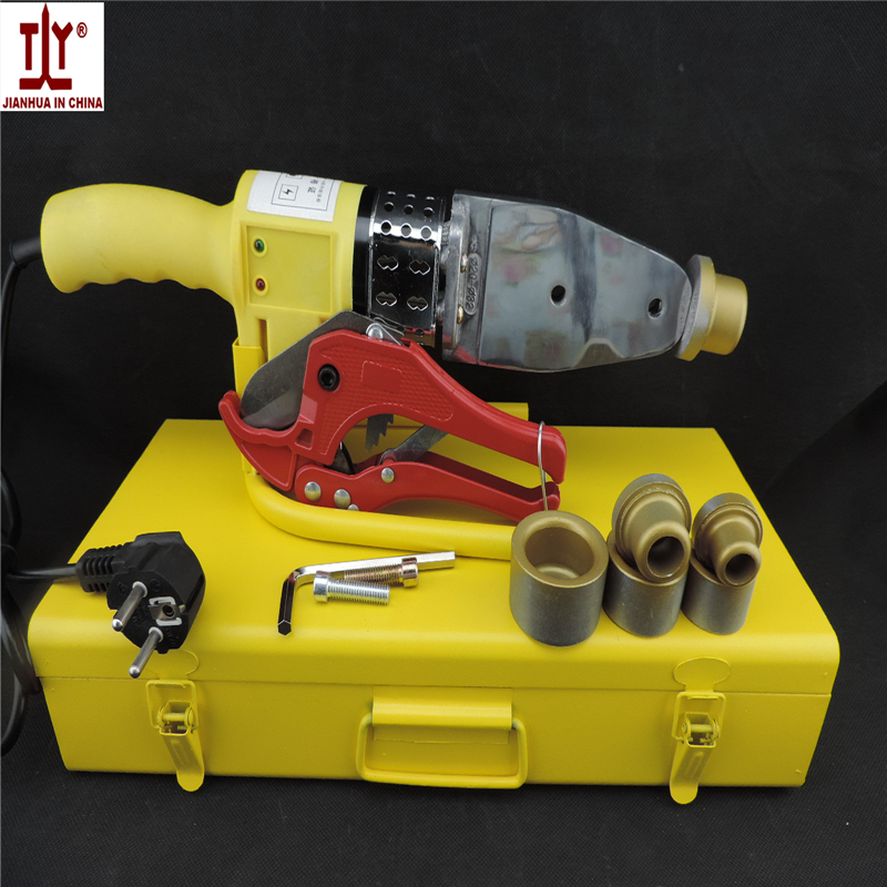 Free shipping thick die head 20-32mm 600W AC 220/110V plastic pipe welding machine ppr pe pipe Tube Welder ppr welding Equipment 110 220v dual voltage 3 in 1 multifunction welding machine tig arc welder plasma cutting ct312 with free accessory free shipping