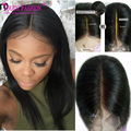 2017 New Fashion Sexy Virgin Malaysian Human Hair Glueless Lace Front Wigs Natural Hairline 13*6 Deep Part Full Lace Front Wigs