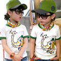 Free shipping!New 2015 Summertime child clothes,baby boys t-shirt,Fashion Elephant boys clothing,Casual boys tops tees.kids wear