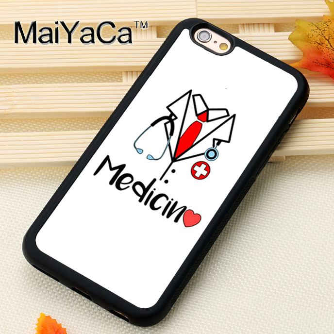 Phone Bags & Cases Maiyaca Medicina Doctor Printed Soft Rubber Skin Cell Phone Cases For Iphone 6s 8 7 Plus X Xs Max Xr 5s Se Back Cover Ample Supply And Prompt Delivery