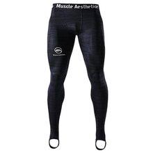 Мужские компрессионные быстросохнущие обтягивающие штаны, мужские спортивные штаны для фитнеса, тренировок, бодибилдинга, мужские джоггеры, спортивная одежда для кроссфита, штаны