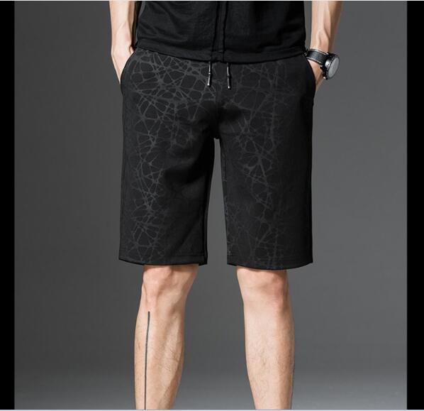 2018 degli uomini di estate nuova spiaggia di grandi dimensioni cinque punti pantaloni casual maschile
