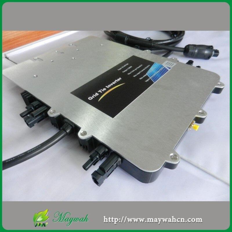 MAYLAR @ SUN1200G IP67 Micro Grade Empate Inversor de Energia Com ETL/SAA/VDE/TUV Certificado 20 Anos garantia limitada de Onda Senoidal Pura