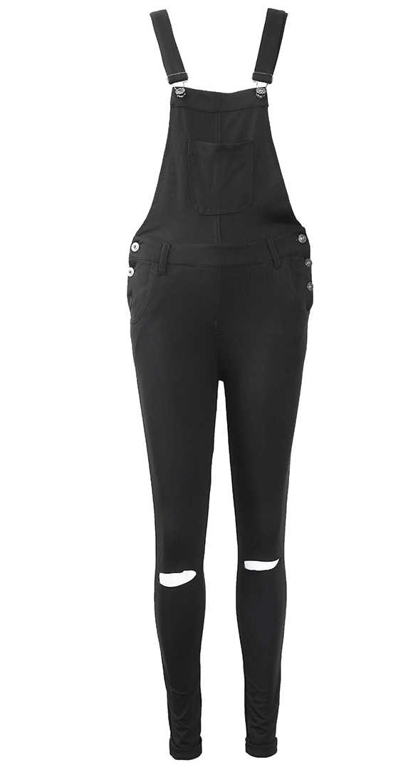 2018 модные женские туфли Тонкий джинсы комбинезон Брюки для девочек Комбинезоны для девочек Бретели для нижнего белья комбинезон Комбинезоны для малышек Мотобрюки