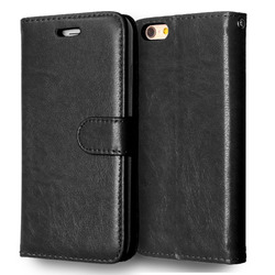 Case For iPhone 6 6S Luxury Wallet Flip Leather Cover For Case iPhone 6 Cell Phone Cases With Credit Card Holder Stand Holster 6