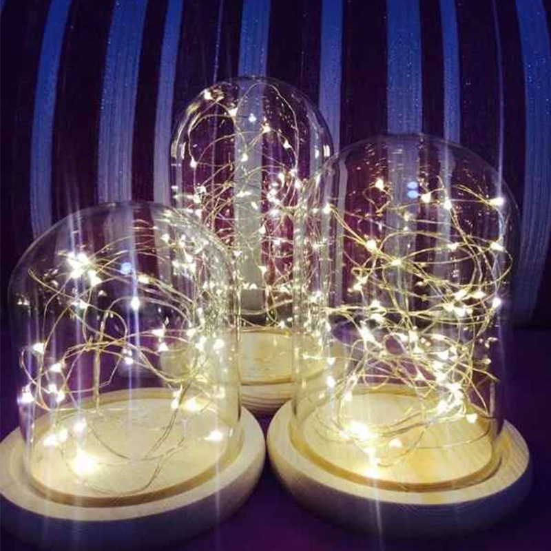 50pcs 40leds Led Decorative Christmas Light String Wedding Home Glass Craft