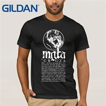 Mgla Groza T-shirt Mens and mens Cotton printing Shirt Big Size S-XXXL