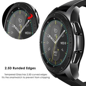 Image 5 - VSKEY 100PCS Tempered Glass For Samsung Galaxy Watch 42mm Screen Protector D30.5mm Sport Smart Watch Protective Film