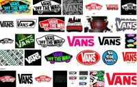 C01 OEM Vans Of Wall Ads Classic Collectibles Decorative Logo Wall Wallpaper Stickers Mural Customized Cute