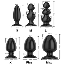 Dilatador Anal Beads Butt Plug Silicone Not Vibrator Adult Sex Toys for Woman Gode Anal Dil
