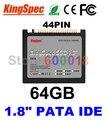 """L Kingspec 1.8 """"дюйма PATA IDE 44PIN SSD Solid State Disk ssd 64 ГБ жесткий Диск Ноутбука Для IBM X40 X41 X41T Внутренний Жесткий диски"""