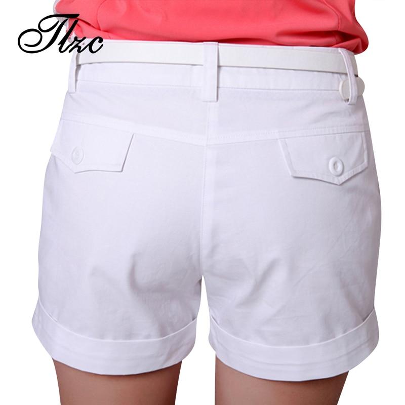 Aliexpress.com : Buy 2017 Korea Summer Woman Cotton Shorts Size S ...