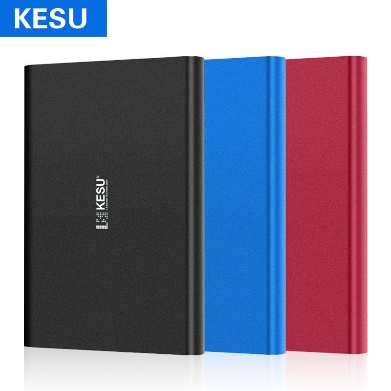 KESU 2.5 External Hard Drives 1TB 2TB Storage Portable Hard Disk USB3.0 HDD for PC, Mac, Tablet, Xbox One, Xbox 360, PS4