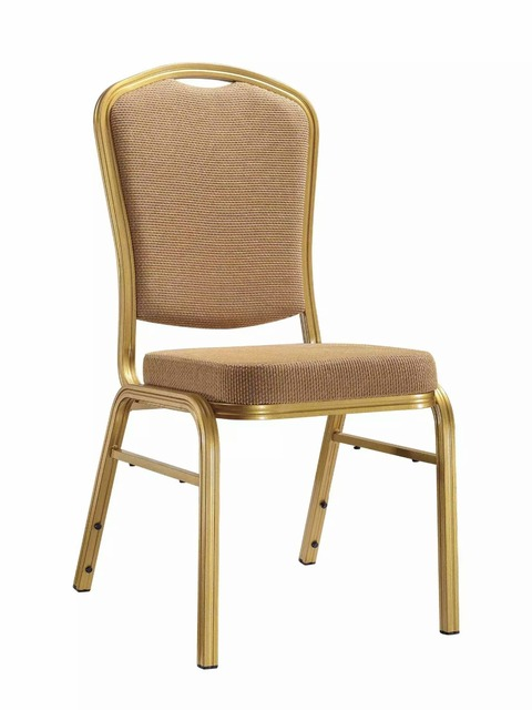Metal Restaurant Chairs Chair Cover Rental Singapore Banquet Stackable 5pc Carton