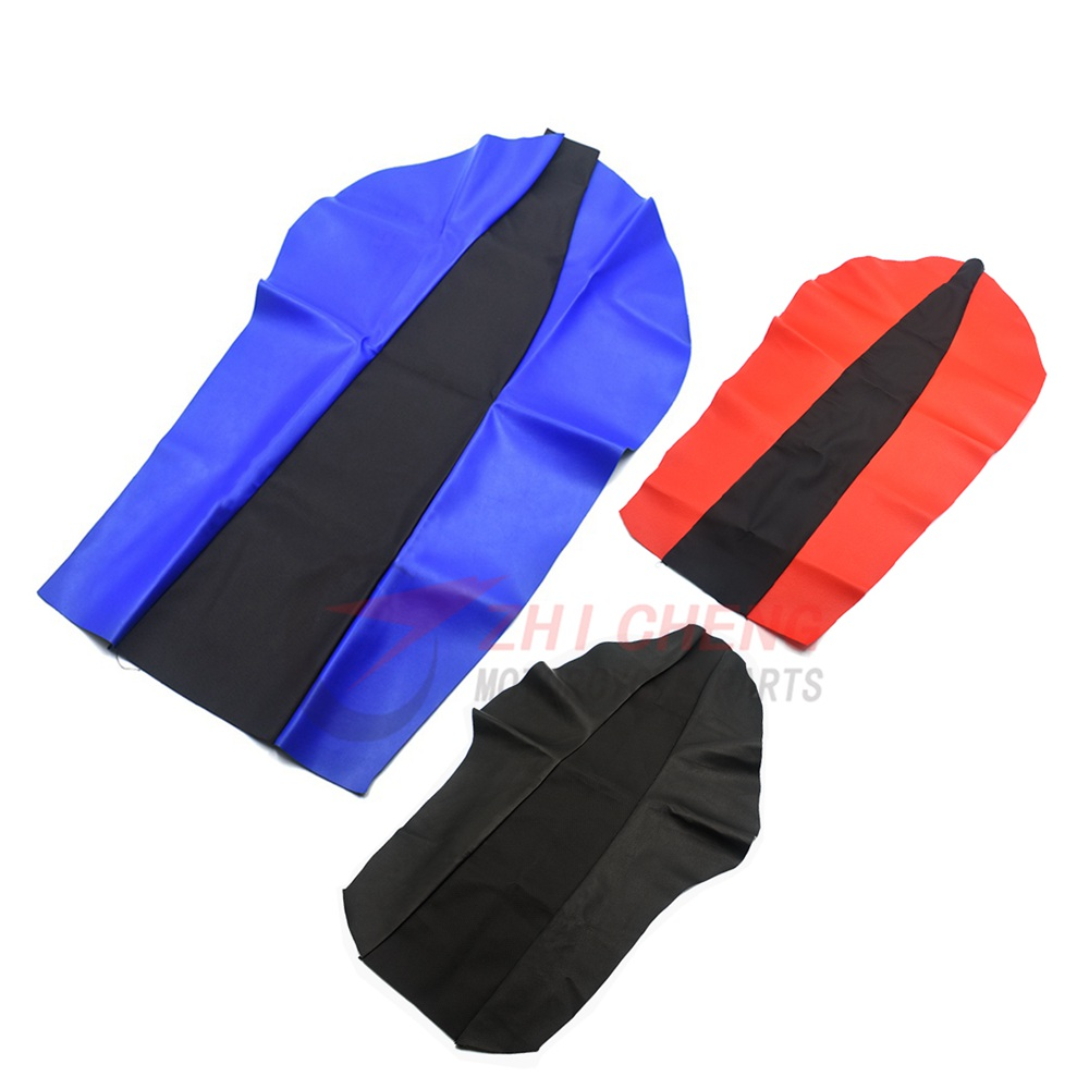 Motorcycle Waterproof Leather Cushion Seat Covers For Honda XR250 XR400 CRM250