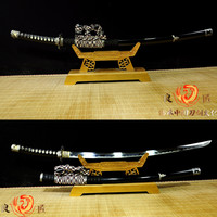 Hand made 9260 spring Steel Blade Tachi Japanese Sword Battle Ready Katana Full Tang
