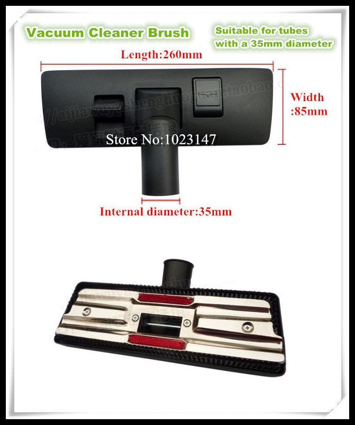 WholeSale ! Vacuum Cleaner Parts 35mm Floor Brush Suction Head Brush Head Suitable for Well Selling Vacuum Cleaner