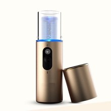 USB Chargeable Nano Mist Facial Water Sprayer Facial Steamer Hydrating Electric Beauty Steamer For Face Skin