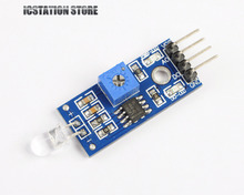 5PCS 4 Pin LM393 Light Sensor Photosensitive Sensor Module for Arduino Smart Car Robot 3.3V-5V