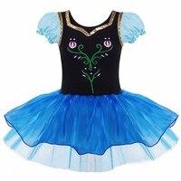 Toddler Girls Elsa Anna Princess Ballet Dress Fairy Ballet Tutu Dancewear For 2 8Y Play Stage