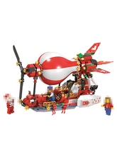 цена на BELA 327pcs Sky Air Boat Adventure Building Blocks Bricks Model Sets Kids Toys For Children suitable  Christmas Series