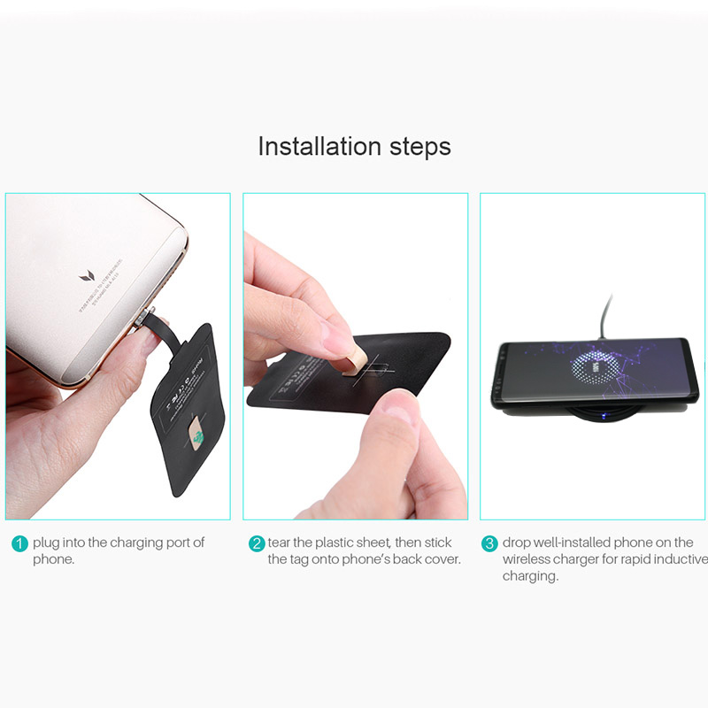 Image 5 - Nillkin Qi Wireless Charging for Huawei Honor 10 20 8X V20 Mate 10 20 P20 P30 Pro Lite Nova 3 4 5 5i P Smart Z Charger Receiver-in Mobile Phone Chargers from Cellphones & Telecommunications